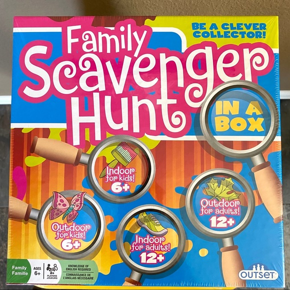Outset Family Scavenger Hunt In A Box Game